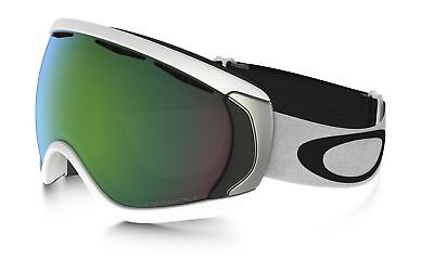 ee131126e836 Oakley Canopy Snow Goggle OO7047-65 Matte White W  Prizm Snow Jade Iridium