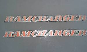*RARE* DODGE RAMCHARGER BADGES Shelley Canning Area Preview