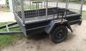 CAGED 6X4 TRAILER, LED LIGHTS .HIGH CAGE Rowville Knox Area Preview