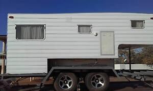 custom trailer with Franklin slide on camper Port Adelaide Area Preview