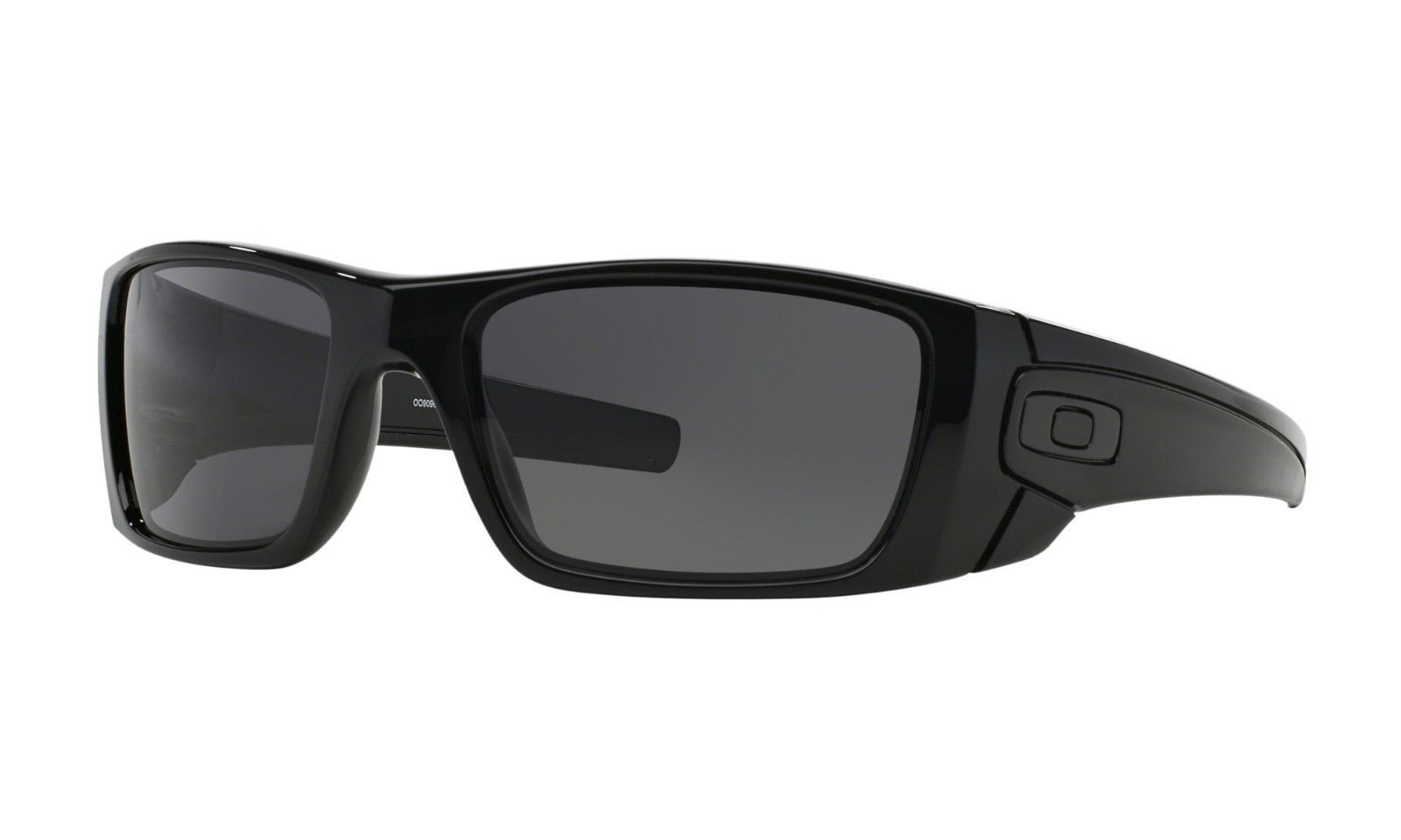 7fedaf4eb163 Oakley Fuel Cell Oo9096 01 Polished Black Warm Grey Lens Mens for ...