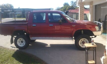 94 hilux 4x4 dual cab Ute 5spd,  Caboolture South Caboolture Area Preview
