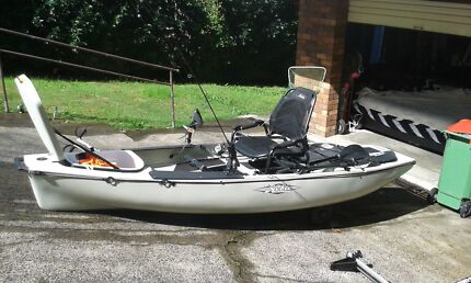 Hobie mirage pro angler 12, price negotiable!!  Terrigal Gosford Area Preview
