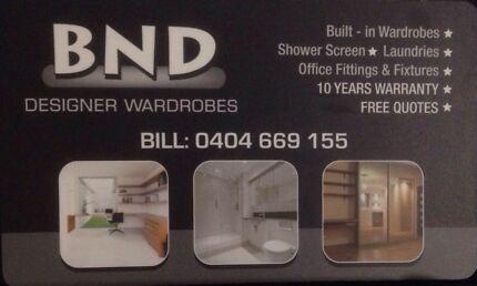 BND Designer Waredrobes Penrith Penrith Area Preview