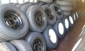 TRAILER, CAMPER AND CARAVAN TYRE&WHEEL - START $85 !!! Archerfield Brisbane South West Preview