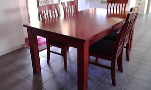 Dining table and 6 chairs Whittington Geelong City Preview