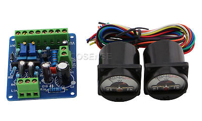 2pcs Panel Vu Meter Lamp Classical Vu Meter Driver Board Kit