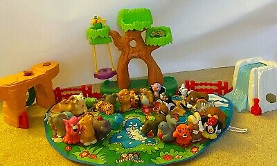 FISHER PRICE LITTLE PEOPLE ZOO ALPHABET ABC A TO Z LEARNING 26 ANIMALS