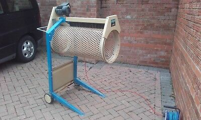 HIRE LONDON SCHEPPACH RS400 electric rotary motorised soil sand rubble sieve