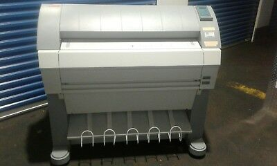 Oce Tds 450 Wide Format Printer Plotter Blue Print