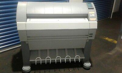 Oce Tds 450 Wide Format Printer Plotter Blue Print