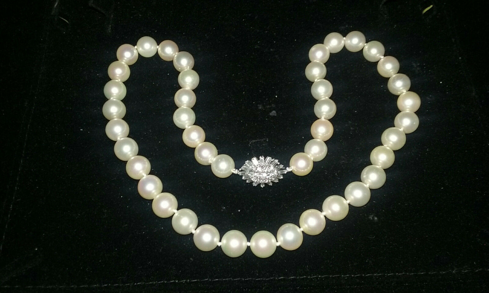 You're Almost Done Mikimoto 18 Inch Pearl Necklace43