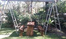 3.4 meter Aluminium A frames with leavling & two 5 meter planks Erowal Bay Shoalhaven Area Preview