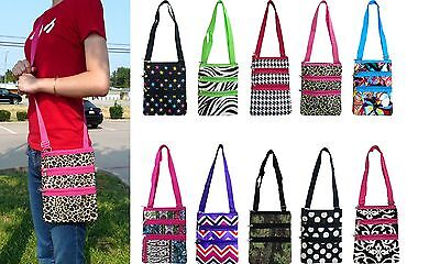 Women's Fashion Print Messenger Cross-body Purse Hipster Shopping Shoulder (Print Shoulder Bag)