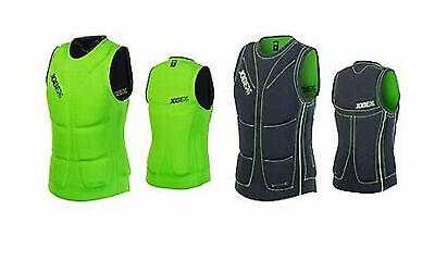 Jobe Comp Vest Reversible green-black Schwimmweste Kite Surf Wakeboard Weste j16