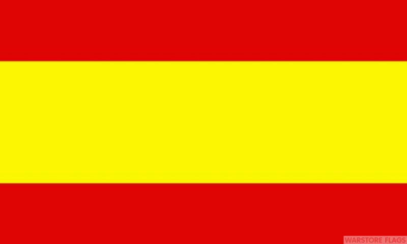 "SPAIN 18"" x 12"" FLAG suitable for Boats Caravans Treehouses flags without crest"