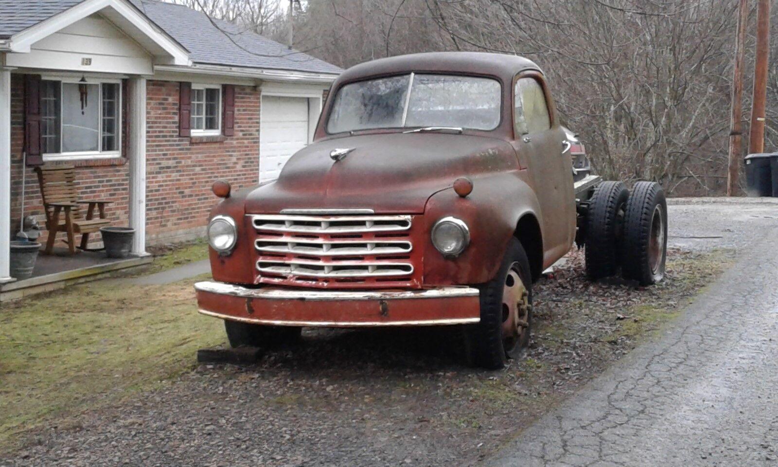 1950 Studebaker R Series  1950 Studebaker Truck  Short wheelbase