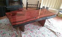 Natural Edge River Redgum Coffee Table Inverell Inverell Area Preview