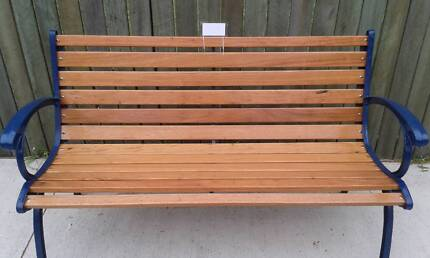 Cast Iron Bench SeatBeautiful Teak Outdoor Bench Seat    Lounging   Relaxing Furniture  . Outdoor Bench Seats Gumtree. Home Design Ideas
