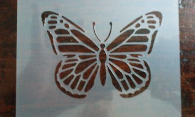 Butterfly Mylar Stencil Reusable Mylar Stencil Airbrush Art Crafting Wall