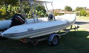 2007 Atomix 5.5 metre RIB, Must Sell, Make An Offer Duncraig Joondalup Area Preview