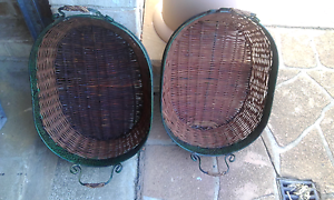 X2 cane baskets Horsley Wollongong Area Preview