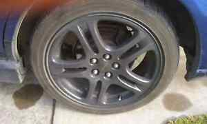 "Genuine 17"" SUBARU alloy mags North Haven Port Adelaide Area Preview"
