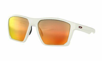Oakley Targetline Sunglasses Matte White Frame Prizm Ruby (Matte White Sunglasses)