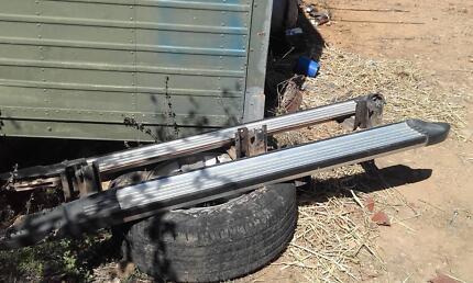 Aluminium side steps, Nissan Patrol.. Location Townsville