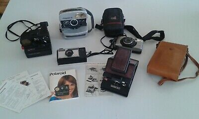 appareils photos pour collectionneurs vintage polaroid kodak samsung minolta