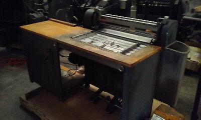 J Curry Mendws Tipper - Paper Gluer Tipper  Tipper Machine