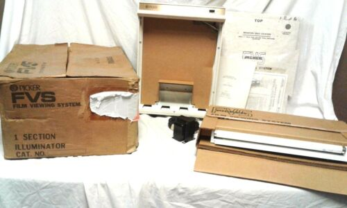 New PICKER Desk Top and Wall Mount X-RAY Film Viewer System 17x14 Model 260219