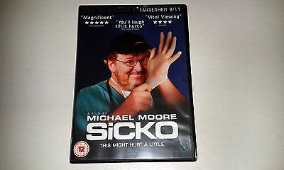 Sicko (DVD, 2008) MICHAEL MOORE