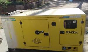 Light industrial and rural silenced generator 30 kva Greenbank Logan Area Preview