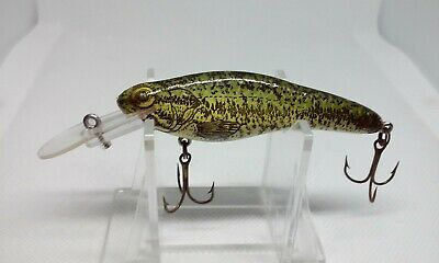 """VINTAGE Crankbait Corp The Fingerling Series Baby Bass 3"""" Crankbait fishing Lure for sale  Shipping to Nigeria"""