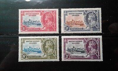 Brit Solomon Isl 60-63 Mint Hinged