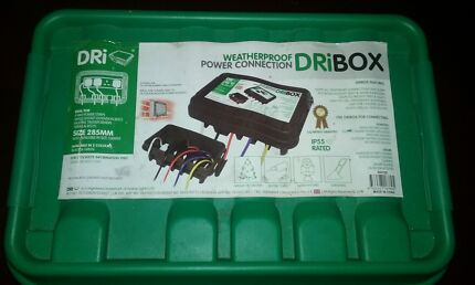 Weatherproof power connection dri box Butler Wanneroo Area Preview
