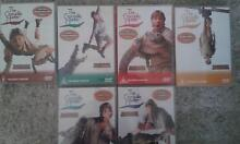 STEVE IRWIN THE CROC...HUNTER DVD COLLECTION 1-6 Macquarie Fields Campbelltown Area Preview