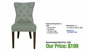 VICTORIA DINING CHAIR IN JADE TONE Ultimo Inner Sydney Preview
