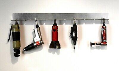 Air Tool Wall Mounted Rack Holder Euro UK PCL Compatible 10 Slot Garage Workshop