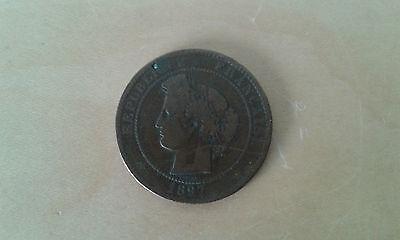 gebraucht 1 Münzen 10 Cent Republik Französisch 1897 Artikel For Colecctors (1 Cent Artikel)