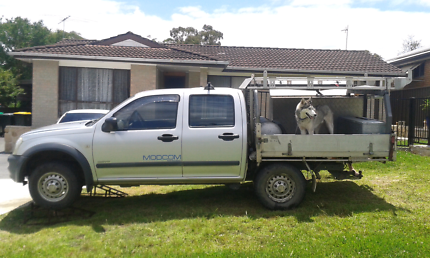 Dual Cab Holden Rodeo