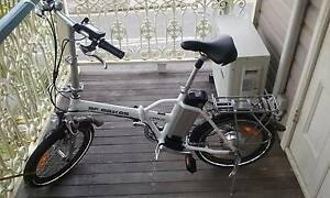 """ELECTRIC FOLDING BIKE with """"BATTERY NEW addition and ACCESSORIES"""" East Brisbane Brisbane South East Preview"""