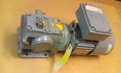 Sew Eurodrive Type S47 Gearmotor - 0.5 Hp 96 Rpm 208 360 Vac 3 Phase.