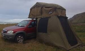2004 Mazda Tribute 4x4 with Roof Top Tent and Camping supplies Benowa Gold Coast City Preview