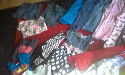 Bundle of girls size 7/8 clothing