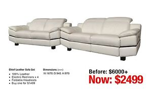 FACTORY SECONDS SOFAS Leumeah Campbelltown Area Preview