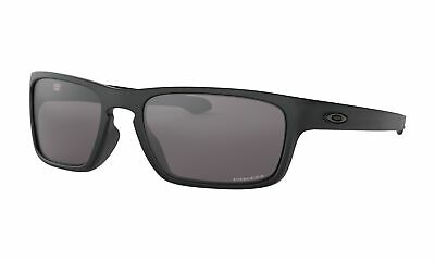 Oakley Sunglasses Sliver Stealth Matte Black w/ Prizm Grey Lens (Stealth Sunglasses)
