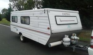 Caravan Many New Extras! Enclosed Annex, 240v Generator