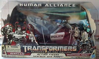 Transformers 2 Rotf Human Alliance Barricade   Frenzy  Us Version Bnib